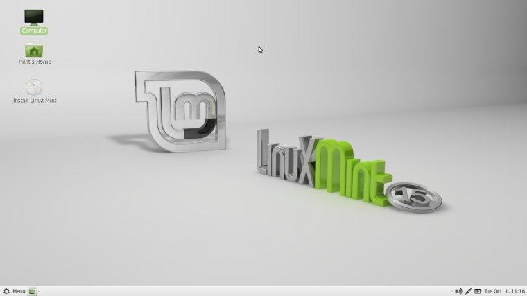 Linux Mint 15 'Olivia' со средой рабочего стола MATE