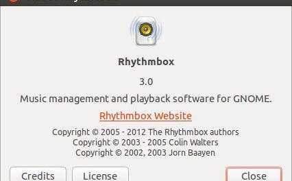 Как установить/обновить Rhythmbox 3.0 на Ubuntu 13.04/13.10