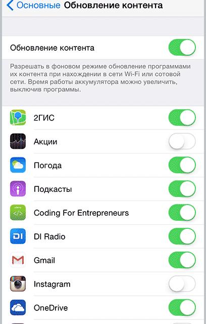 Быстро разряжается iPhone. Что делать?