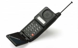 Motorola MicroTAC образца 1989 года...