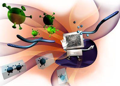 Симптомы заражения компьютера вирусами