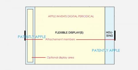 Apple создает цифровую газету, которую можно свернуть 1
