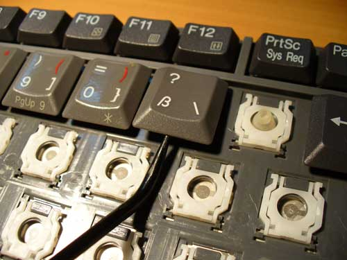 Кнопки на ноутбуках Acer