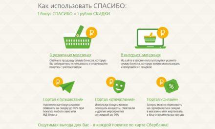 Какие магазины принимают бонусы «Спасибо» от Сбербанка