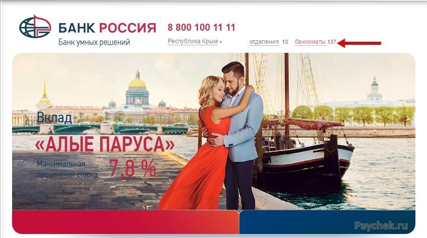 Банкоматы Сбербанка на территории Республики Крым