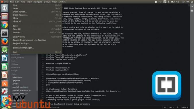 """Вышел Adobe Brackets 1.11 с """"полной поддержкой"""" Linux"""