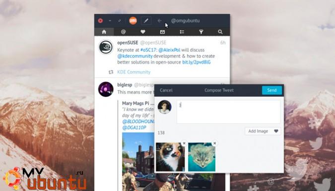 Вышла новая версия твиттер-клиента Corebird 1.5.1