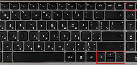 Способы выделения текста клавиатурой и мышкой