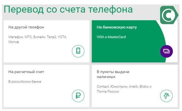 Как перевести деньги с телефона на карту «Сбербанка»?