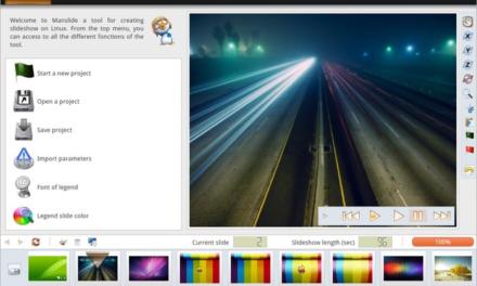 Manslide 2.0.3: Слайд-шоу генератор с эффектом 3D