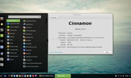 Как сделать Cinnamon 2.0 доступной на Ubuntu Desktop