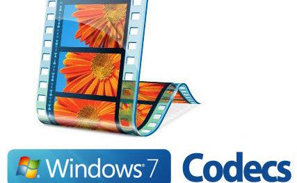 Windows 7 Codecs Package