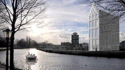 В Амстердаме дом напечатали на 3D-принтере