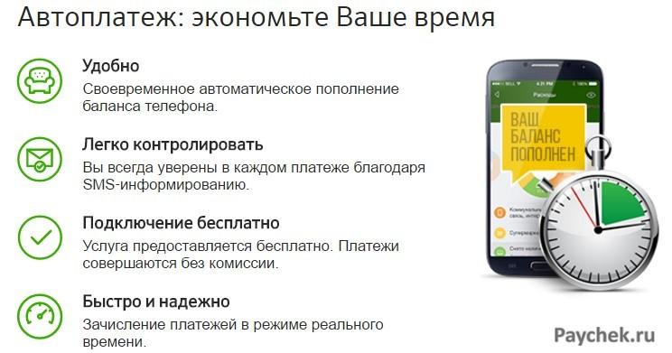 Отключение «Автоплатежа» Сбербанка (через СМС 900)