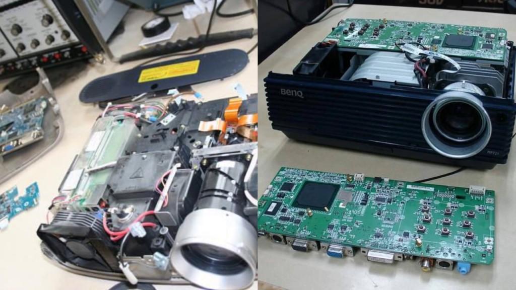 Особенности ремонта специалистами современных проекторов