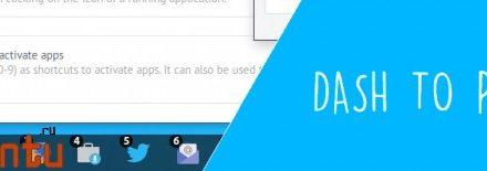 Обновление Dash to Panel