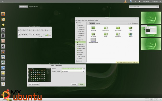 gnome-shell-effects-mint