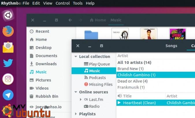 Как установить GTK-тему Adapta в Ubuntu