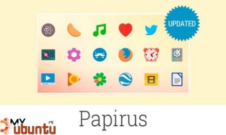 Большое обновление темы иконок Papirus