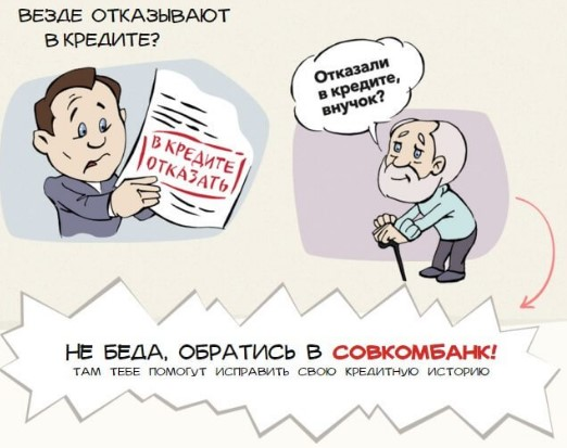 Программа Кредитный доктор от Совкомбанка