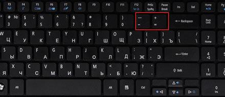 Изменение размера шрифта на экране компьютера в Windows 7, 8